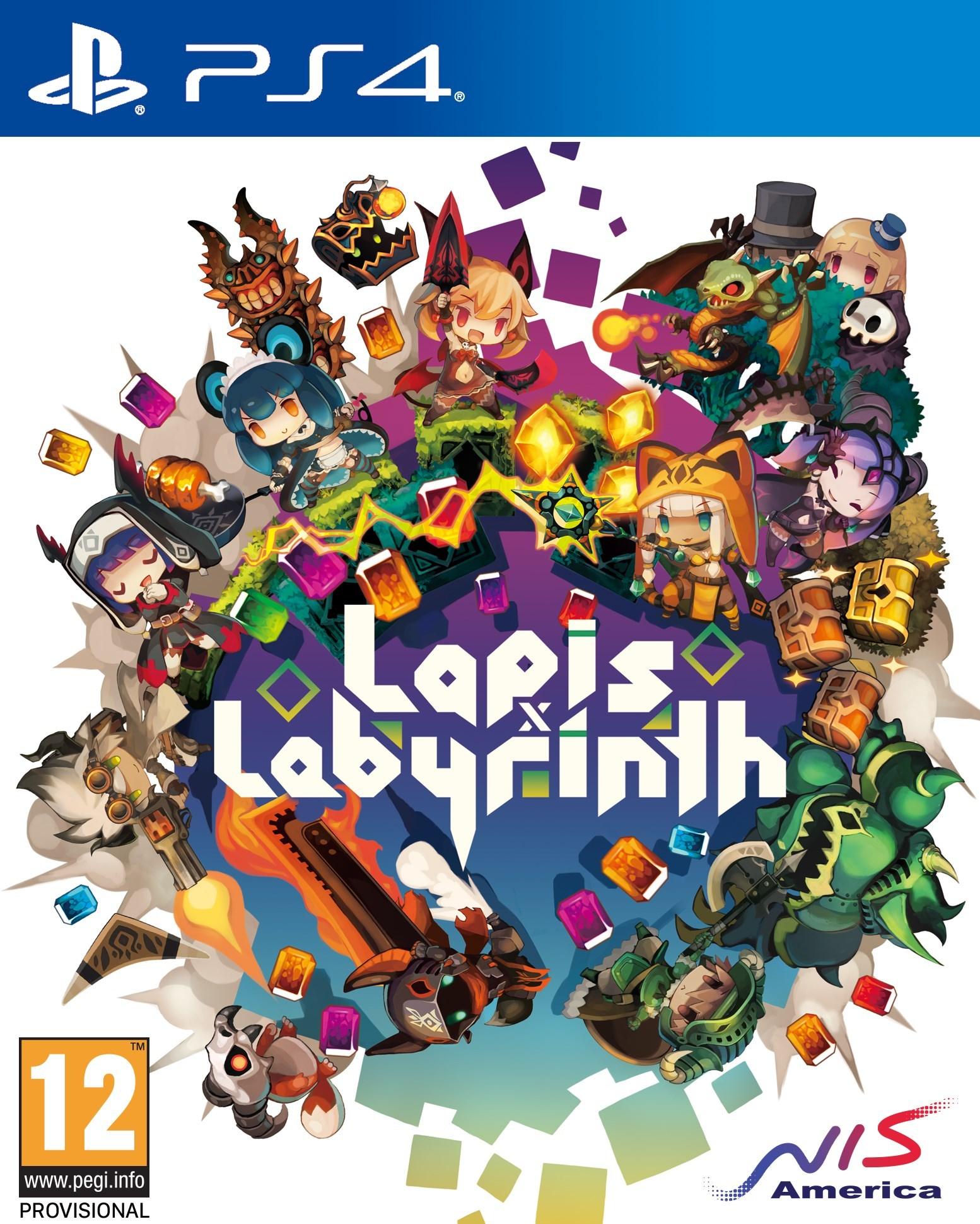 Lapis x Labyrinth Cover