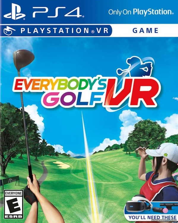 Everybody's Golf VR Cover