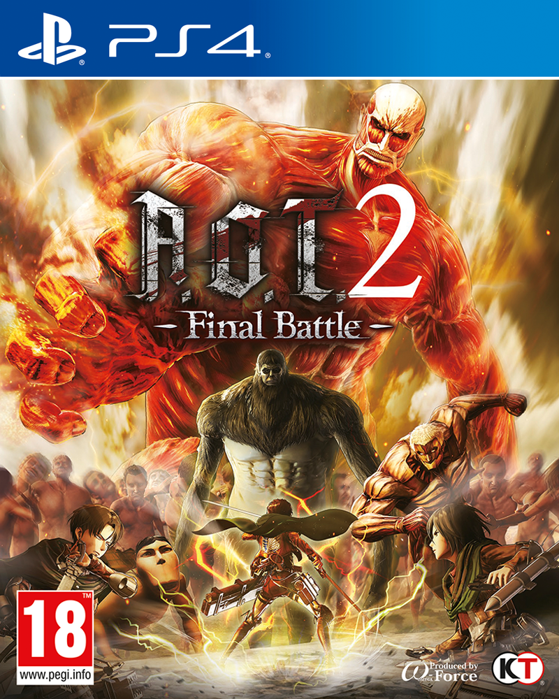 Attack on Titan 2: Final Battle Cover