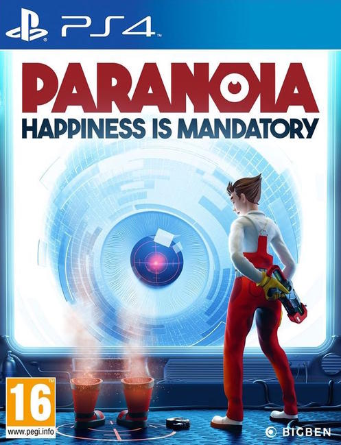 Paranoia: Happiness is Mandatory Cover