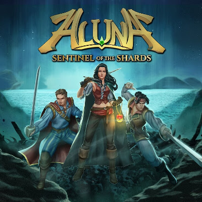 Aluna: Sentinel of the Shards Cover