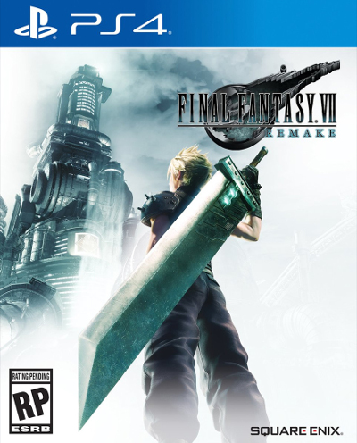 Final Fantasy VII Remake Cover
