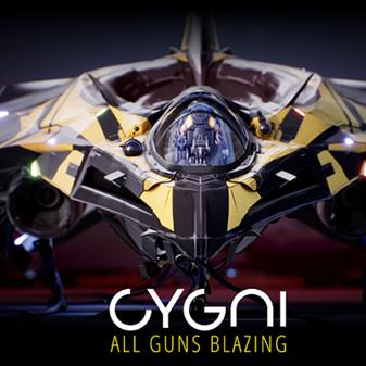 CYGNI: All Guns Blazing Cover