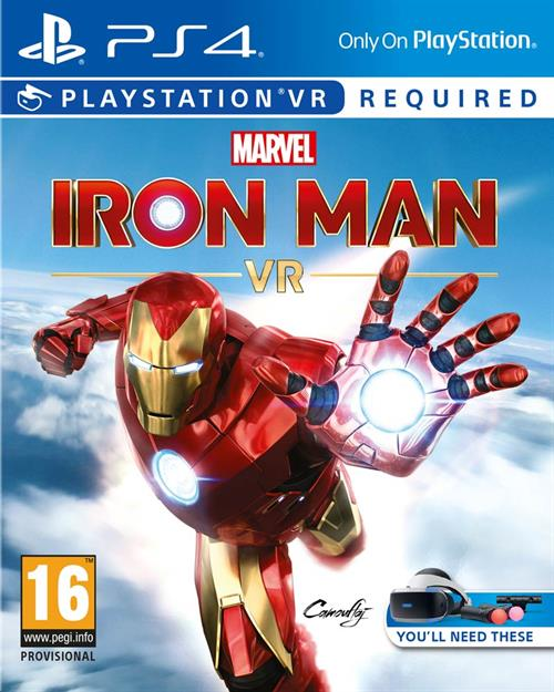 Marvel's Iron Man (VR) Cover