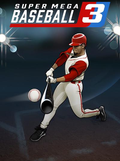 Super Mega Baseball 3 Cover
