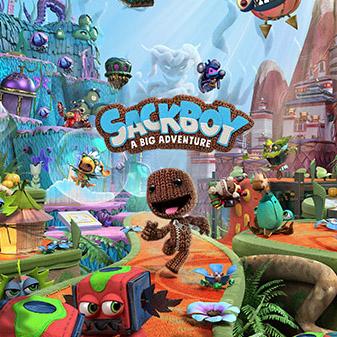 Sackboy: A Big Adventure Cover