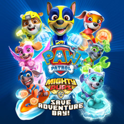 PAW Patrol: Mighty Pups Save Adventure Bay Cover
