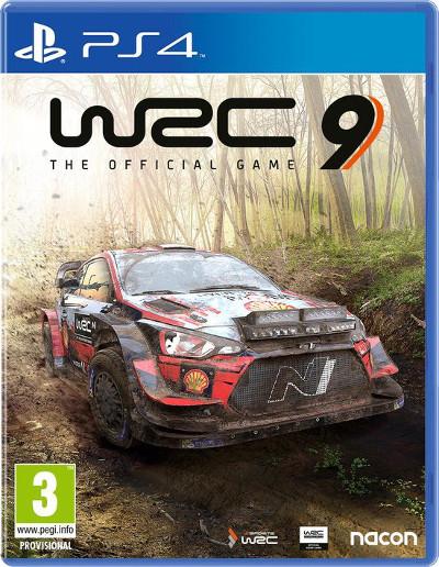 WRC 9 Cover