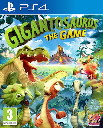 Gigantosaurus: The Game Cover