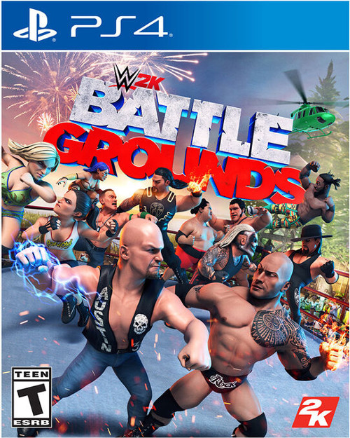 WWE 2K Battlegrounds Cover
