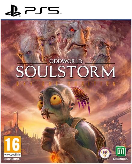 Oddworld: Soulstorm Cover
