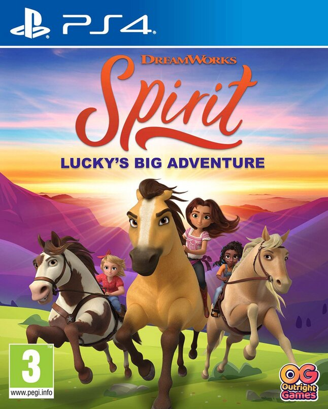 Spirit Lucky's Grote Avontuur Cover