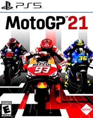 MotoGP 21 Cover