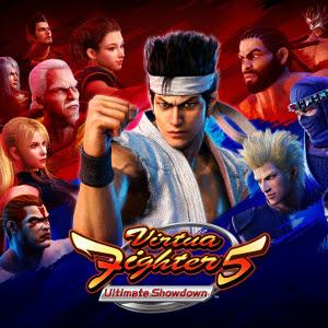 Virtua Fighter 5 Ultimate Showdown Cover