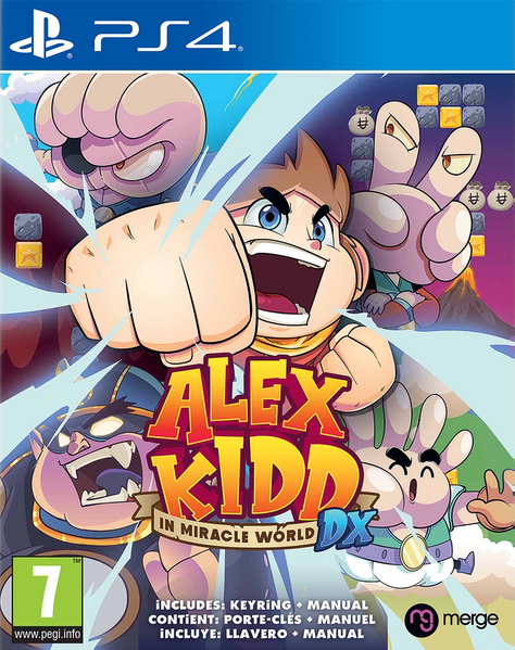Alex Kidd in Miracle World DX Cover