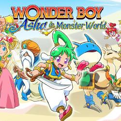 Wonder Boy: Asha in Monster World Cover