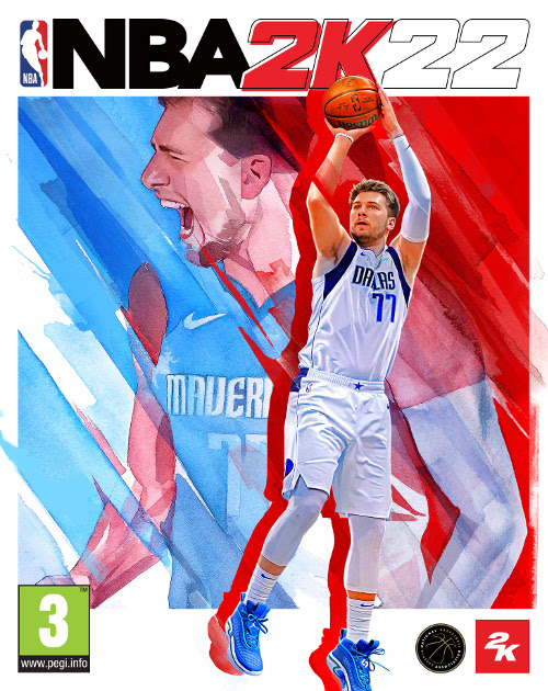 NBA 2K22 Cover