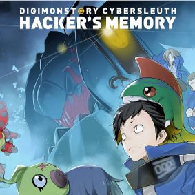 Red de digitale wereld met Digimon Story Cyber Sleuth Hackers Memory