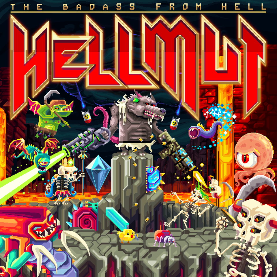 Hellmut: The Badass from Hell aangekondigd