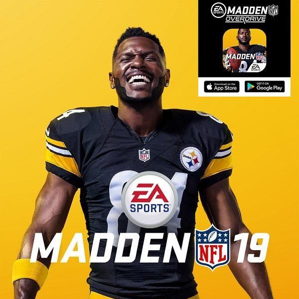 Antonio Brown benoemd als officiële EA SPORTS Madden NFL 19 coveratleet!