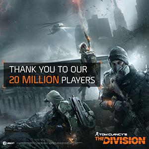Tom Clancy`s The Division viert tweede verjaardag met 20 miljoen spelers