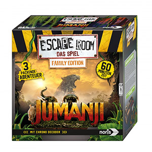 Kaart- en Bordspellen: Escape Room The Game Family Edition Jumanji